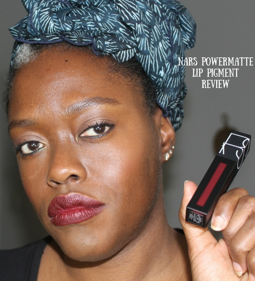 nars powermatte lip pigment review 1