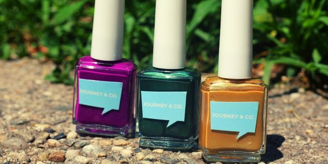 journey and co nail polish review