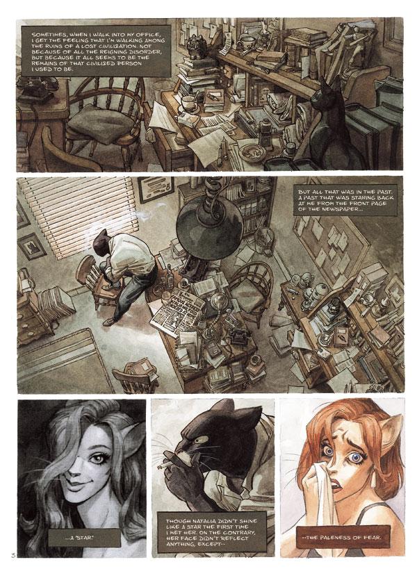 Noir Comics  Blacksad By Juan Diaz Canales And Juanjo