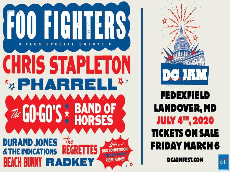 Foo Fighters: D.C. Jam On Independence Day at FedExField