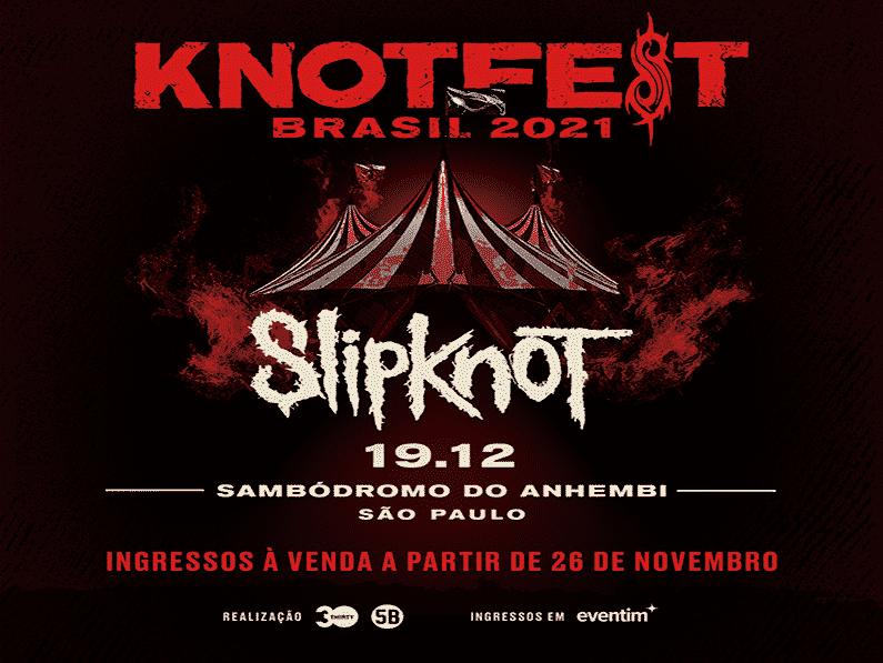 SLIPKNOT ANNOUNCES KNOTFEST BRAZIL FESTIVAL