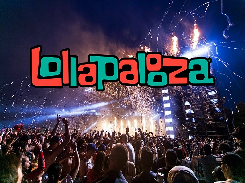 ICONIC LOLLAPALOOZA  RETURNS TO CHICAGO THIS SUMMER: ITS OFFICIAL
