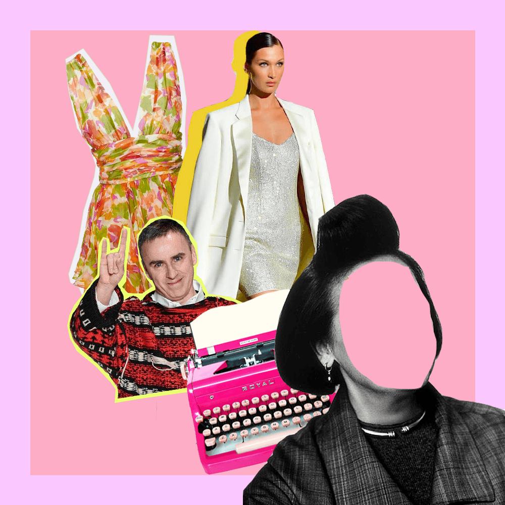 periodistas de moda