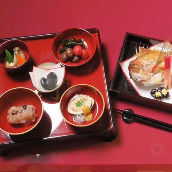 仙台花寅のお食い初め膳の画像