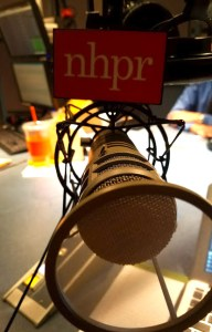 microphone with nhpr logo
