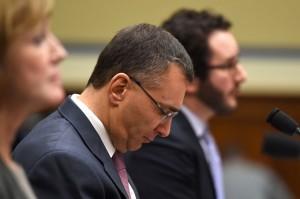 Gruber Testifying