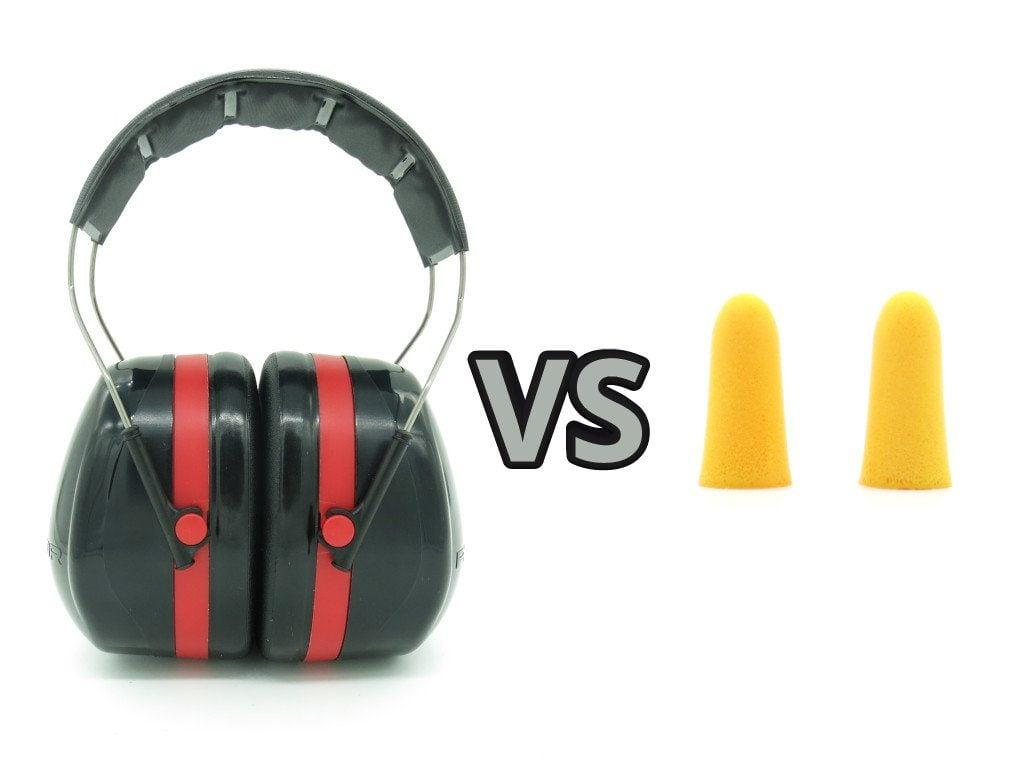 earplugs vs earmuffs which