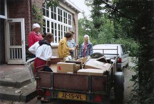 Verhuizing van de Molenweg naar de Koningin Wilhelminastraat.