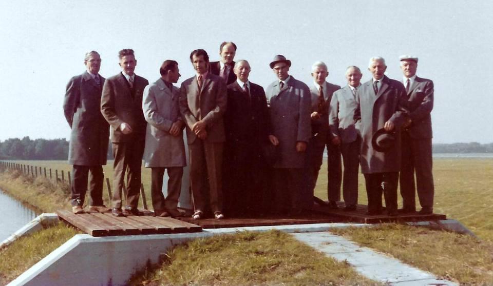 1972 - bestuur Tedingerbroekpolder