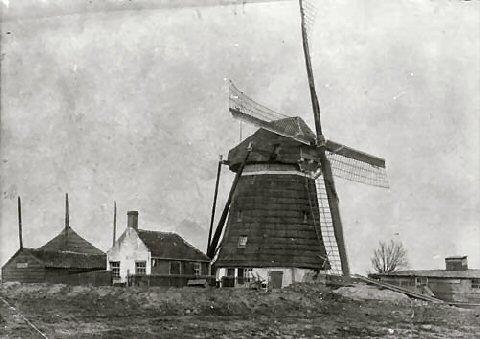 De Bieslandse molen 1900