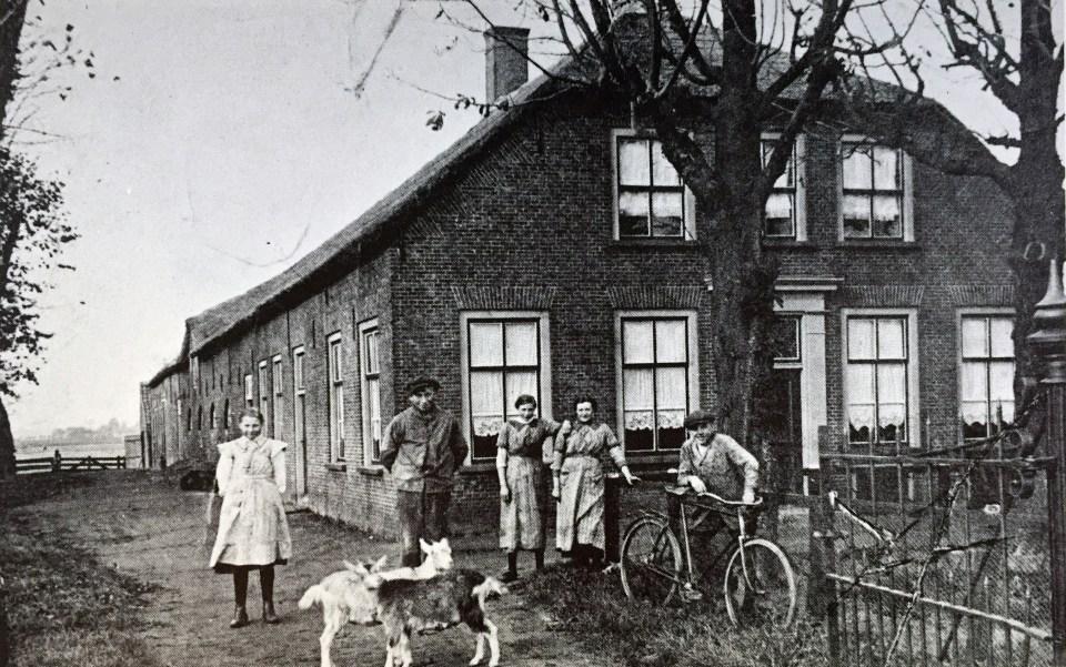Achterweg - 1917