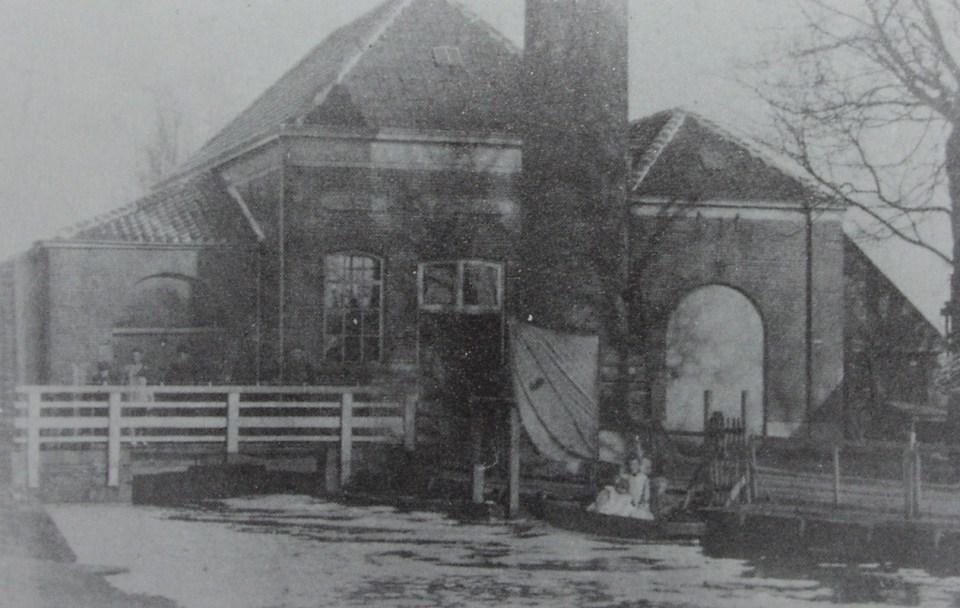 Stoomwatergemaal in 1910