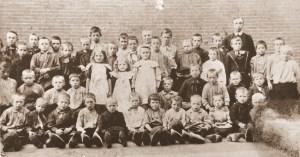 Klassenfoto 1908