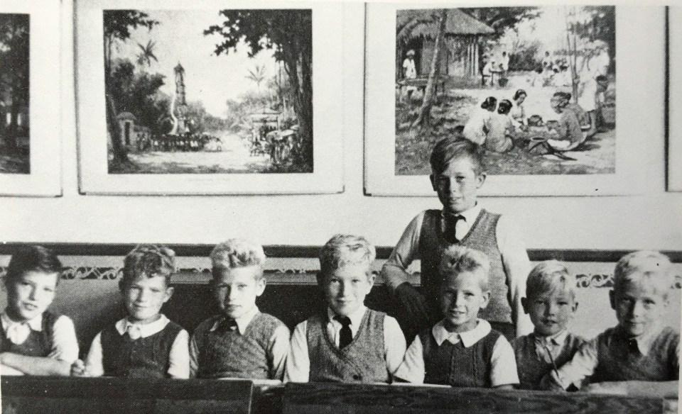 Klassenfoto 1949