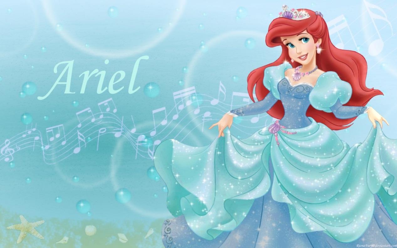 آرييل - قصة حياة الأميرة آرييل حورية البحر من ديزني - نجومي