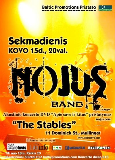 NOJUS Band Live in Mullingar