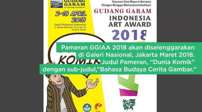 Gudang Garam Indonesia Art Award 2018: Bahasa Budaya Cerita Gambar