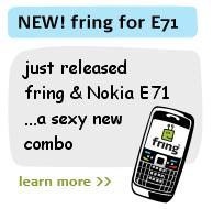 Hot News: Fring for Nokia E71 available now! | Nokia e71 blog