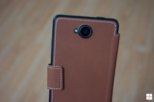 leather front cover 650