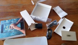 Unboxing mess