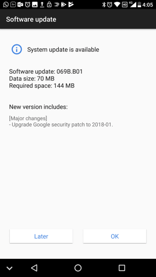 Nokia 7 TA1047 patch