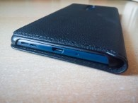 Nokia 5 case mozo leather black bottom