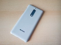 Nokia 5 mozo case sand grey full back