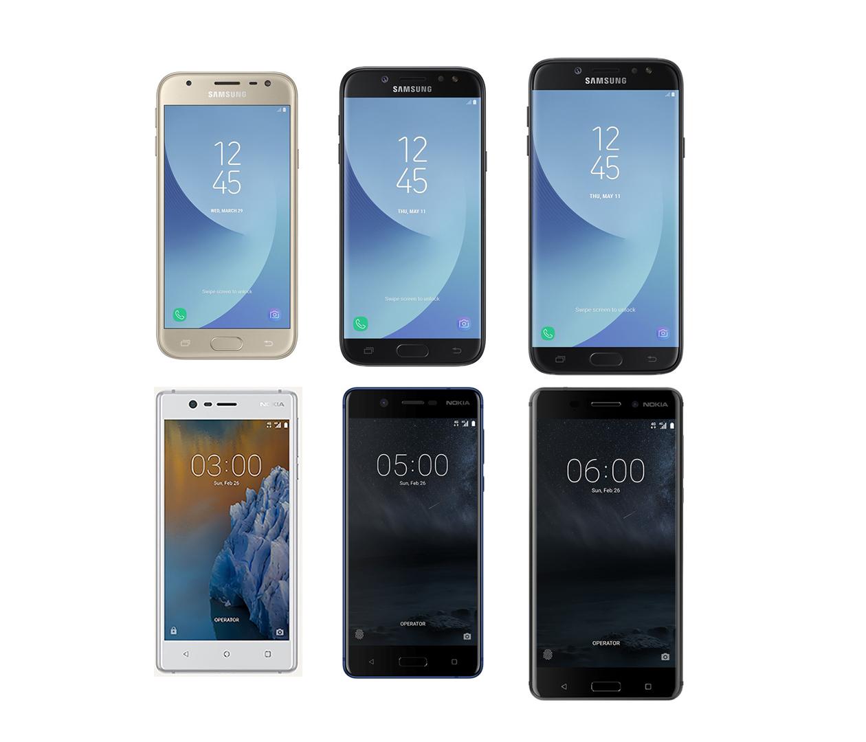 Galaxy J7 2017 Size Compared S7