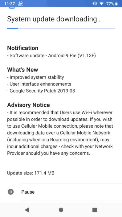 nokia 2.1 update