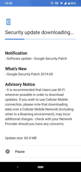 Nokia 4.2 security patch