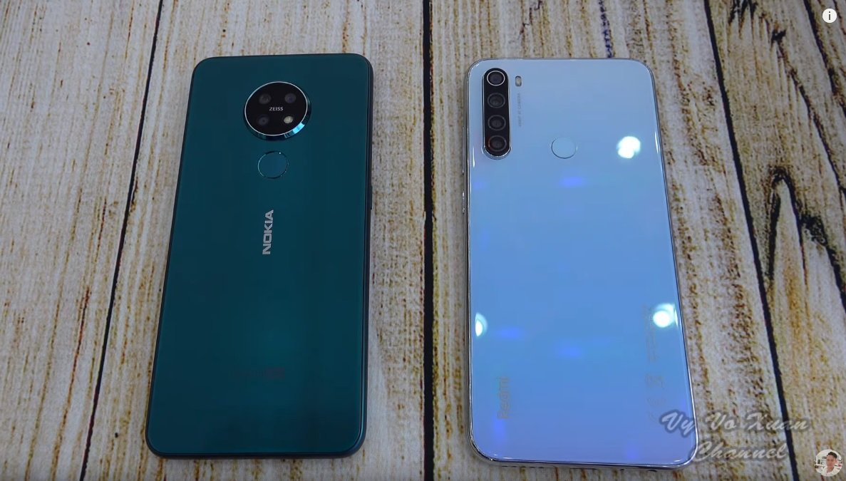 Video Quick Speed And Camera Comparison Between Nokia 7 2 And Xiaomi Redmi Note 8 Nokiamob