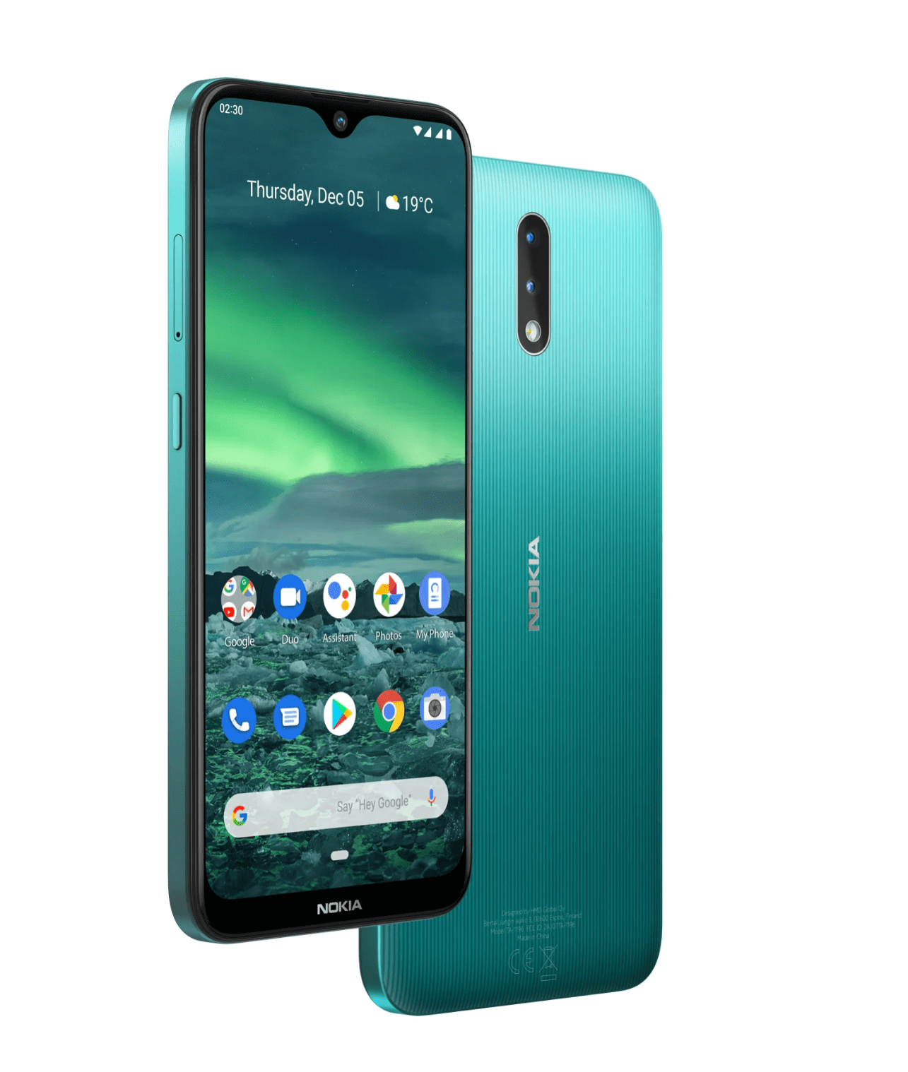 HMD Global's Nokia 2.3 arrives with a trendy design for €109