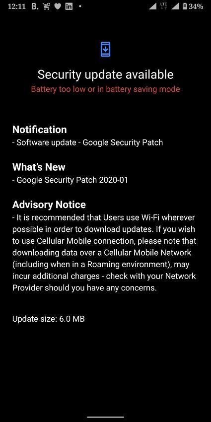 Nokia 9 Yanvar təhlükəsizlik yamağı və Nokia-nı qəbul edən Pureview 6.2 yeni tort hazırlamaq 2