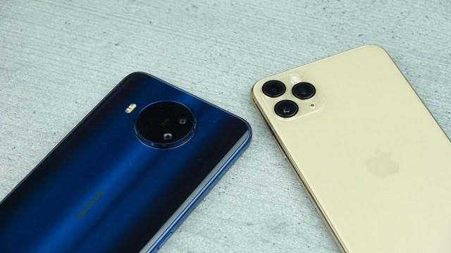 Nokia 8.3 vs iPhone 11 Pro