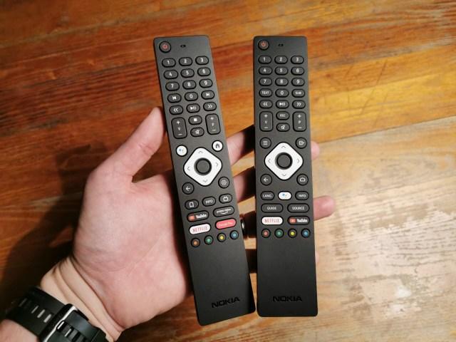 Nokia TV remote (right)
