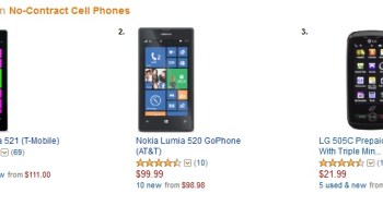 Lumia 521 is 2nd top-selling contract phone at T-Mobile