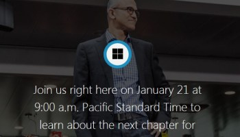 Countdown timer for Microsoft's Windows 10 event today