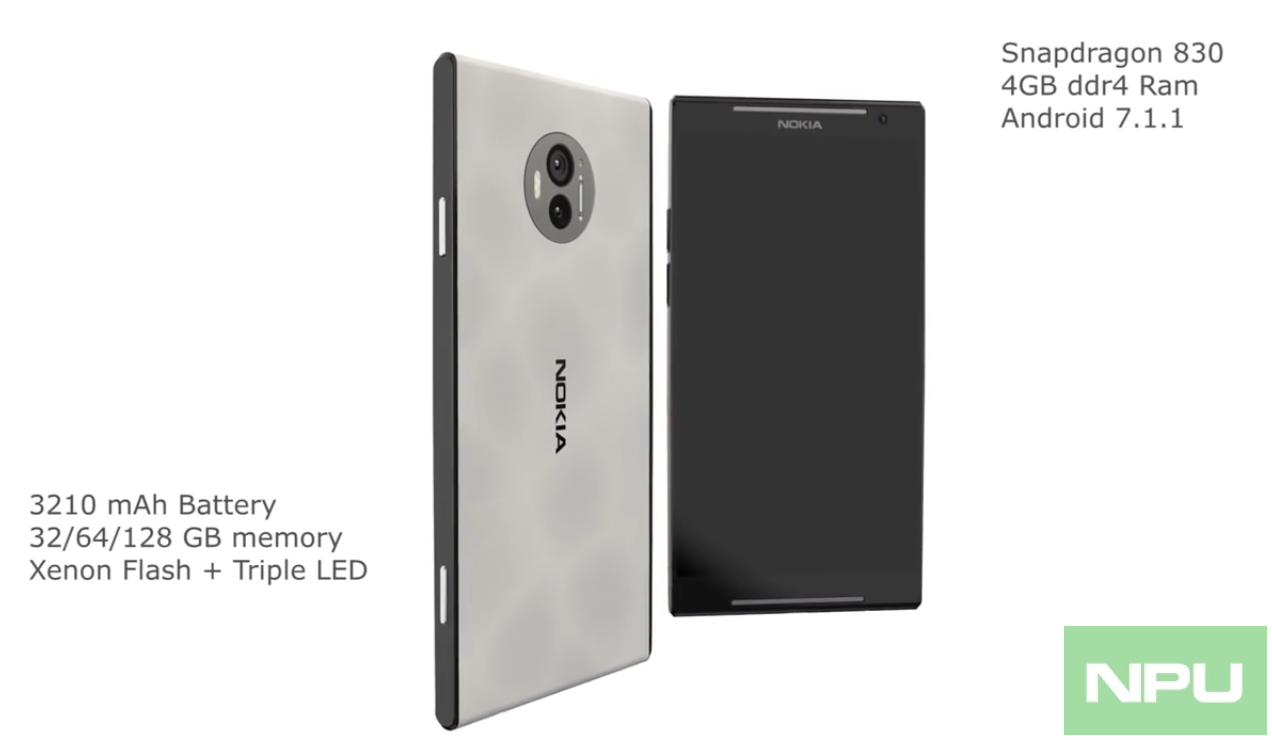 hight resolution of lots of fake concept images of nokia android flagship phones are doing rounds
