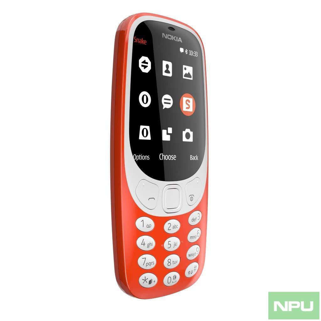 Nokia 3310 Warm Red