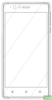 Nokia 3 patented design 3
