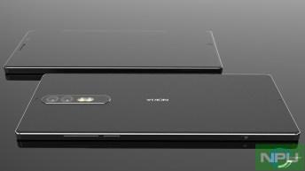 Nokia 8 leaked render 3