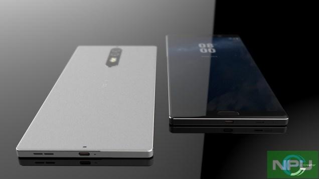 Nokia 8 leaked render 5