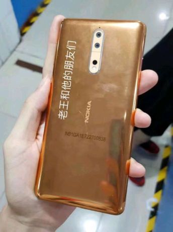 Nokia 8 Copper-Gold image 8