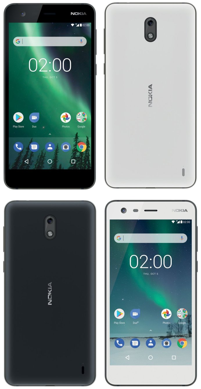 Nokia 2 leaked press images