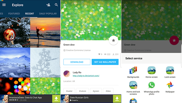 Best Free Wallpaper Apps For Android In 2019 Features
