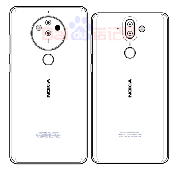 If This Tip Is Correct Nokia 8 Pro Will Feature The Earlier Rumored Penta Lens Camera Module With Rotating Zoom Tech From Zeiss