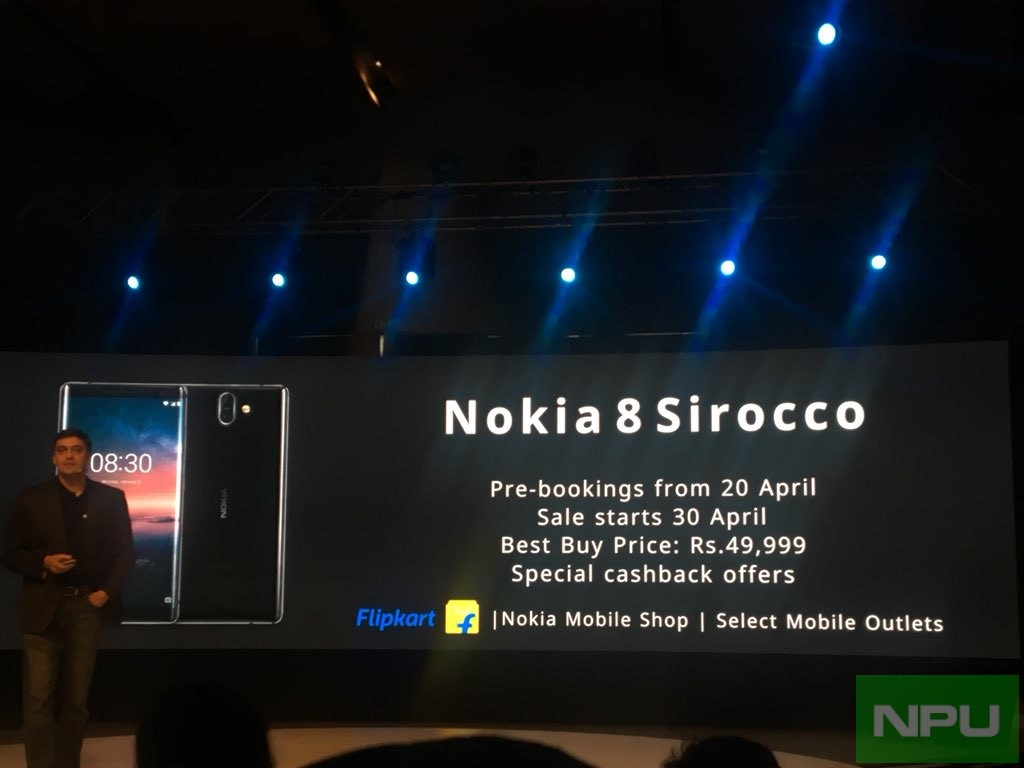 Nokia 6 (2018), Nokia 7 Plus, Nokia 8 Sirocco Unveiled in India