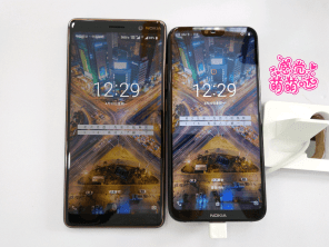 Nokia X6 vs 7 Plus size comparison