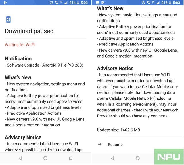 Official Android 9 Pie update for Nokia 6 1 rolling out now