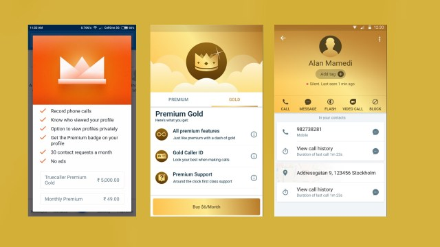 Truecaller for Android updated with support for Truecaller Gold and some more features | Nokiapoweruser